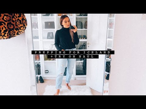 Vlog: Prepping for Iceland + Try On Haul AD | Hello October