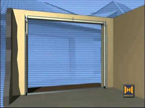 Секционные гаражные ворота Кашино