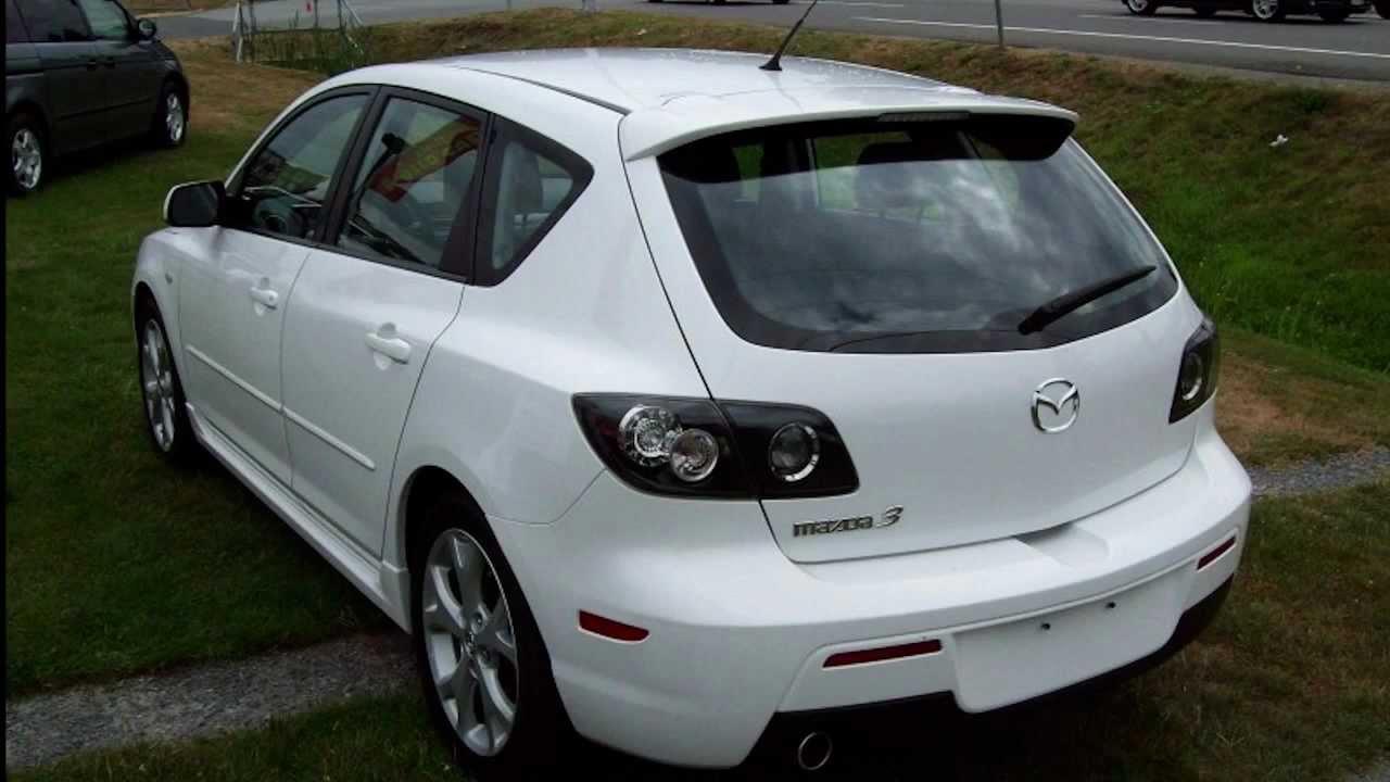 2008 Mazda Mazda3 GS SPORT, 5 SPEED, LOCAL, NO DECu0027S Hatchback   YouTube