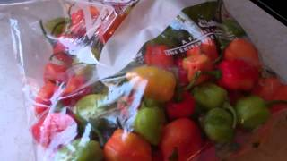 vuclip How To Store Hot Peppers For The Winter Without Losing It's Heat And Flavors.
