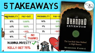 THE DHANDHO INVESTOR (BY MOHNISH PABRAI)