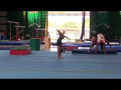 Ejercicio potencia;coordinación;flexibilidad en Gimnasia Artística