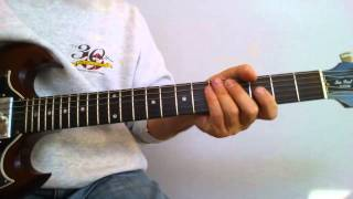 Dancing With Myself (Billy Idol) Guitar Lesson