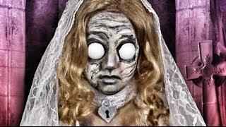 DEAD BRIDE DOLL MAKEUP TUTORIAL!