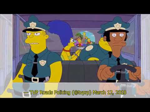 Strange News - Driver Tries To Pass Homer Simpson License Off As Real To Cops