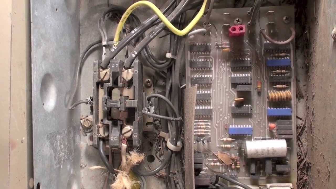 HVAC compressor crankcase heater wiring - YouTube on