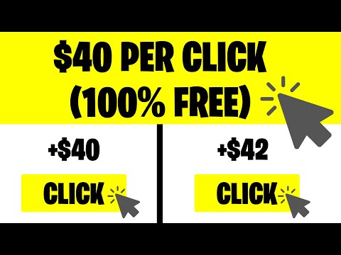 Get Paid To Click ($40 PER CLICK) | Make Money Online 2021