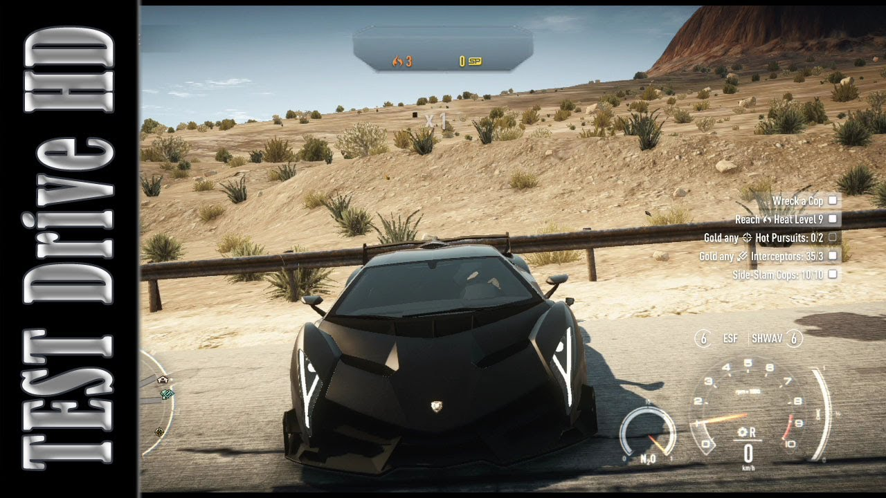 Lamborghini Veneno Need For Speed Rivals Test Drive Hd Youtube