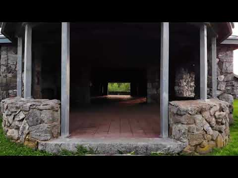 Through the Pavilion at Dennis Hill