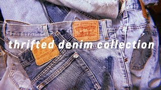 THRIFTED DENIM COLLECTION MASSIVE TRY-ON