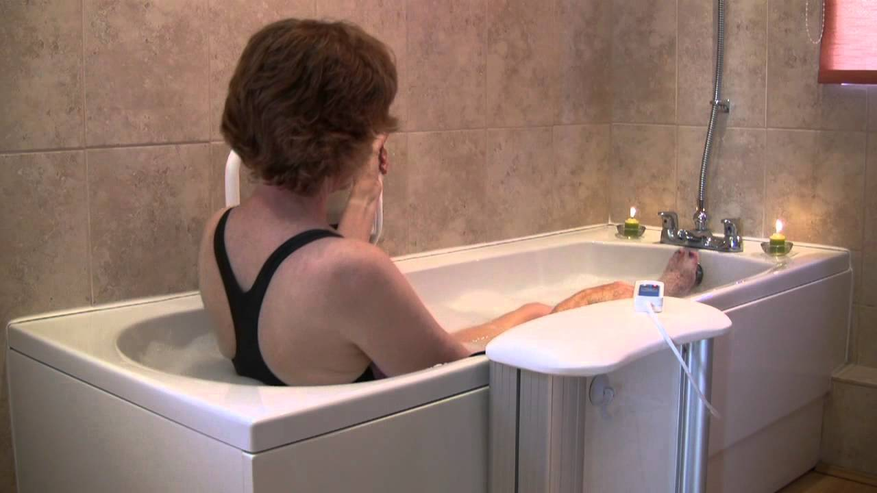 Molly Bather bath lift - how to get in and out your bath - at the ...