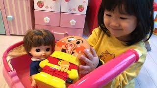 アンパンマンお弁当作りごっこ!ピクニックお料理ごっこ Pretend Play as a Anpanman Lunch Box Toy thumbnail