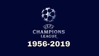 All Finals Champions League 1956 - 2019