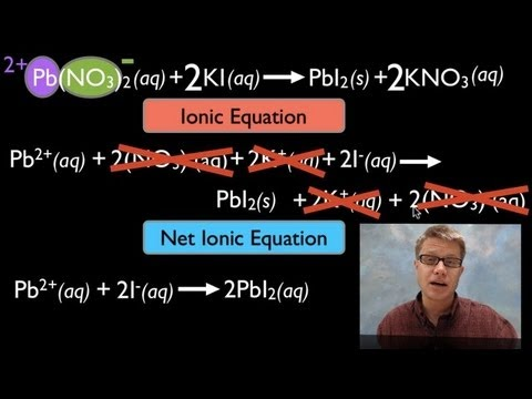 Molecular, Ionic, And Net Ionic Equations