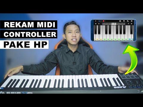 Midi Keyboard Rekam Ke HP ~ Tutorial Menghubungkan Controller Ke Smartphone Android