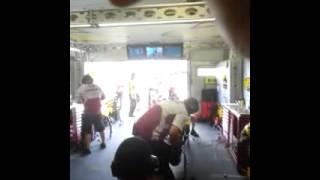 MotoGp. Marc VDS pit box