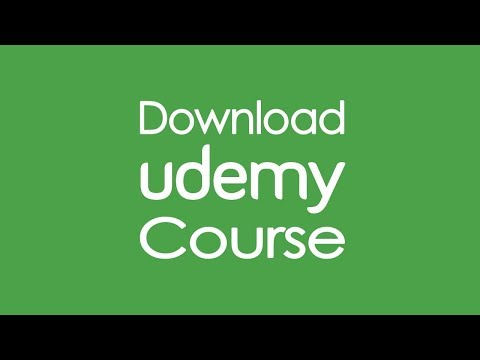 Simplest way to download Udemy enrolled courses - YouTube