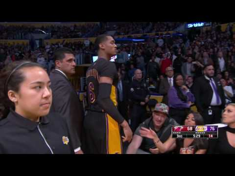 Miami Heat at Los Angeles Lakers - January 6, 2017