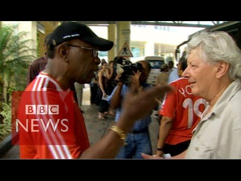 'If I could've spit on you I would've spat on you' - BBC News