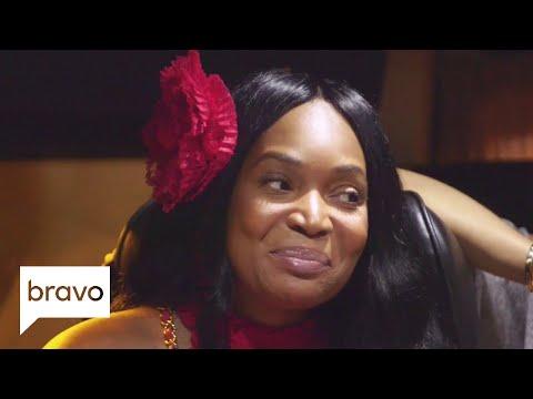 RHOA: NeNe Leakes' Does Her Impression of Kandi Burruss (Season 10, Episode 15 ) | Bravo