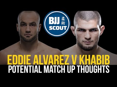 BJJ Scout: Khabib Nurmagomedov V Eddie Alvarez Future Match Up Thoughts