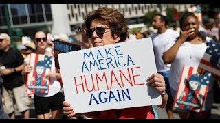 Watch: Immigration protests on Trump, ICE polices at Families Belong Together rallies in U.S.