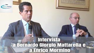 Intervista a Bernardo Giorgio Mattarella ed a Enrico Mormino