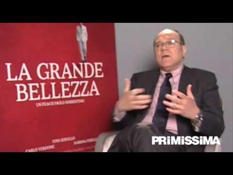 Intervista a Carlo Verdone protagonista del film La grande bellezza