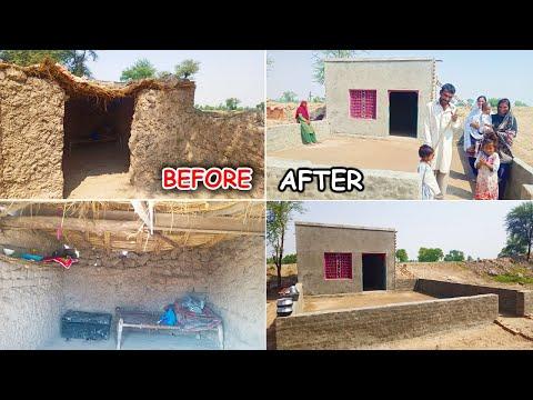 Homeless Family Surprised with New House in Pakistan I Apna Ghar for Poor Family