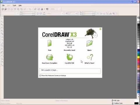 CorelDRAW Tutorial - How to Change bitmap to Vector in Coreldraw