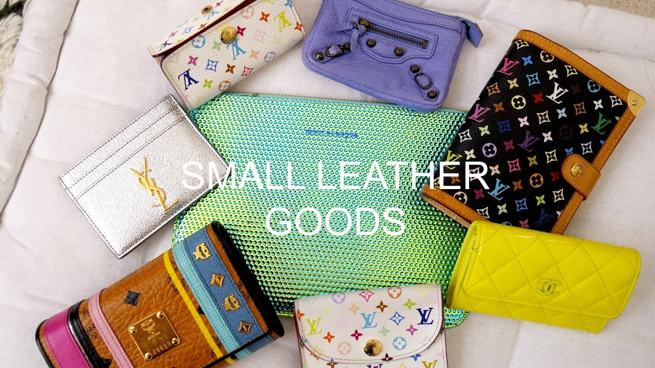 d2e98c135a1d Small Leather Goods Collection | YSL, Chanel, & Louis Vuitton - YouTube