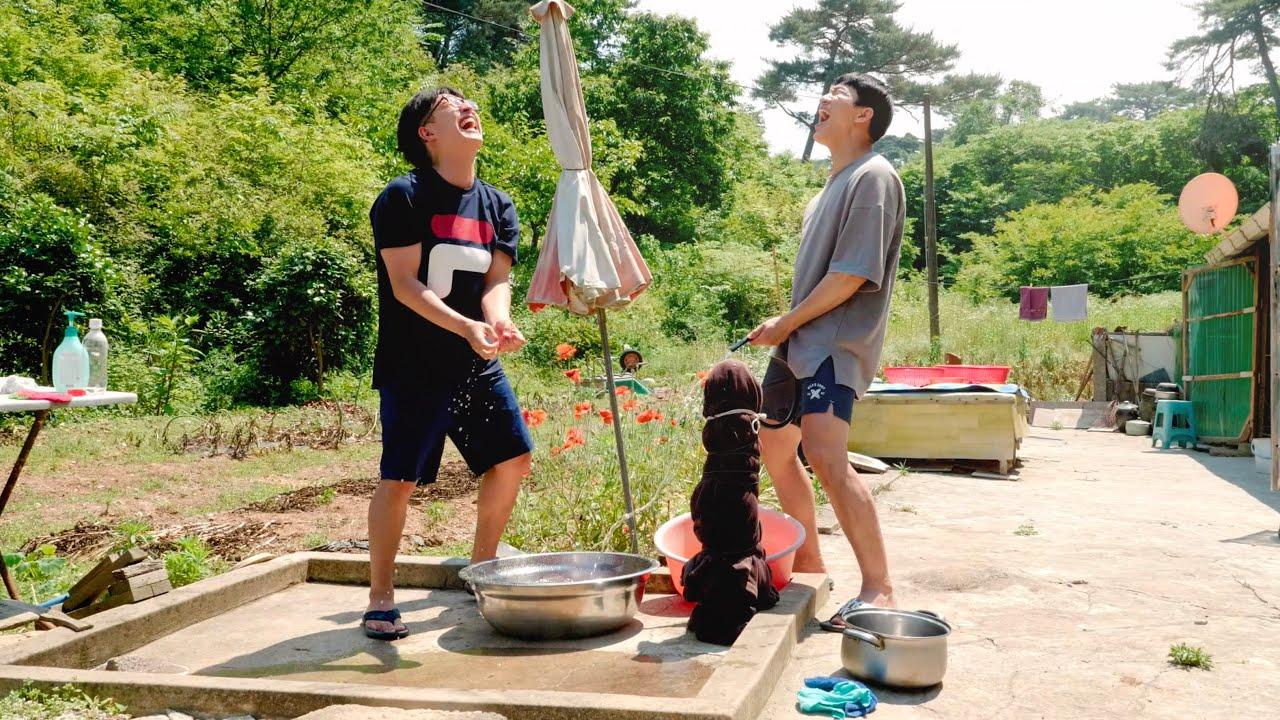 주한이 리틀포레스트 2화 | 여름이 오면 매실청을 담그고, 비가 오면 부추전을 부쳐먹습니다.  Korean Rural V-log Nature Sound ASMR