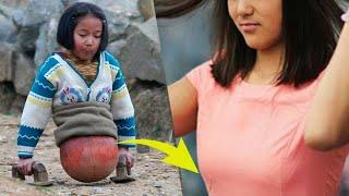 Девочка на баскетбольном мяче добилась того, чего многим и не снилось!