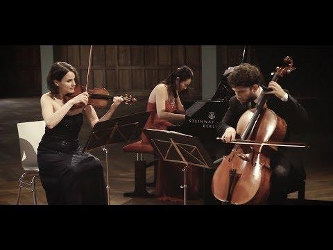 Trio Alba   Felix Mendelssohn Bartholdy: Piano Trio in C minor op. 66 - I: Allegro...