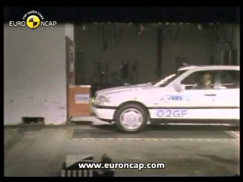 Mercedes Benz C Class 1997 Euro NCAP Crash Test