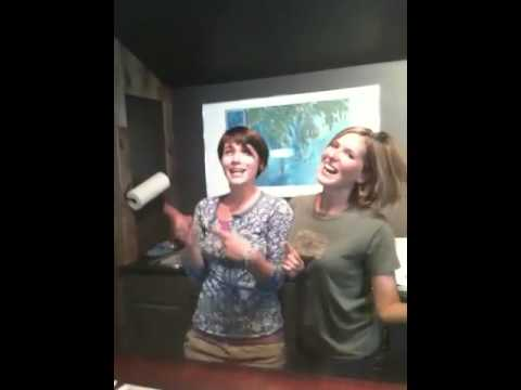 Ellen and Enrika sing the 16 counties of Maine