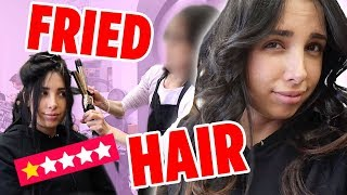 I WENT TO THE WORST REVIEWED HAIR SALON IN MY CITY ON YELP (1 STAR ⭐️) | Mar