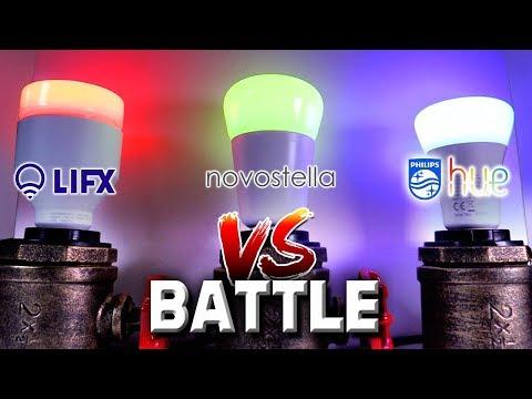 Philips Hue vs Lifx vs Novostella: Proof Hue sucks (AGAIN!)