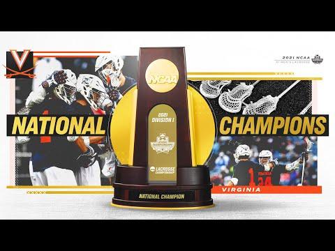 Virginia wins 2021 DI men's lacrosse championship | Highlights