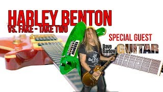 Fake PRS vs. Harley Benton CST24 - Barlow on Benton (I have a special guest!)