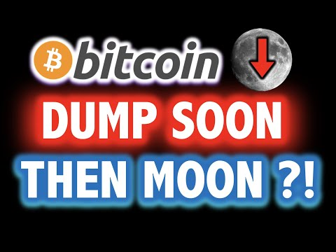 BITCOIN MIGHT DUMP HARDDDD?!! THEN MOON?! 🚨❌Crypto Analysis TA Today & BTC Cryptocurrency Price News