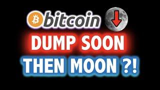 BITCOIN MIGHT DUMP HARDDDD?!! THEN MOON?! 🚨❌Crypto Analysis TA Today \u0026 BTC Cryptocurrency Price News