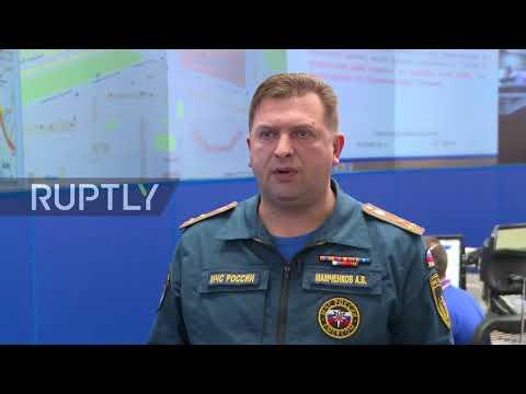 Russia: 'Situation under control' - EMERCOM Deputy Chief following Moscow bus crash