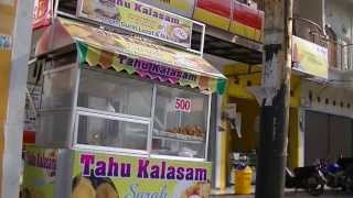 Jakarta Street Food 271 Kalasam Fried Tofu  Tahu Kalasam Sarah