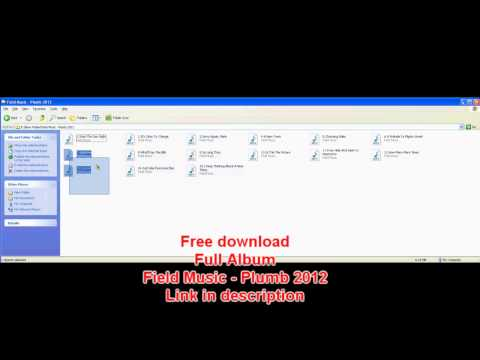 NEW ALBUM Field Music - Plumb 2012 FREE DOWNLOAD
