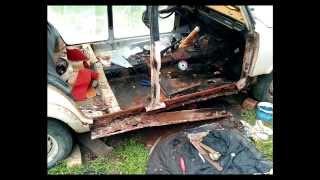 Ремонт кузова ВАЗ 2105 своими руками(