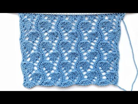 Ажурное вязание схемы спицами