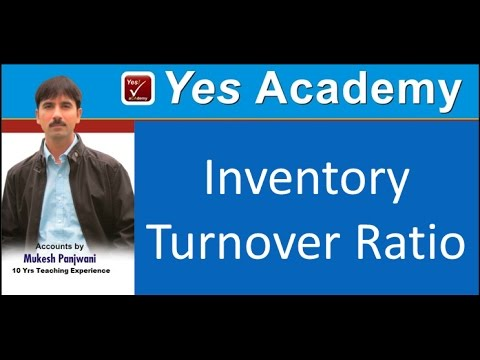 Accounting Ratios 6 Inventory Turnover Ratio