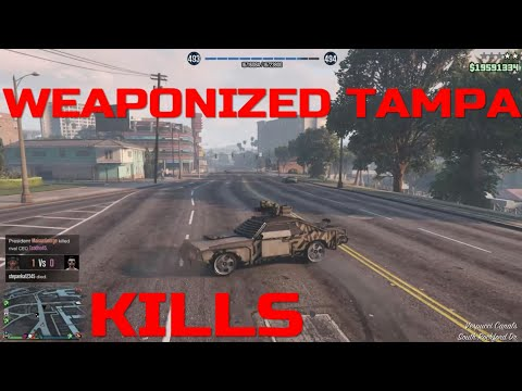 GTA 5 Weaponized Tampa Kill Montage (compilation#52)