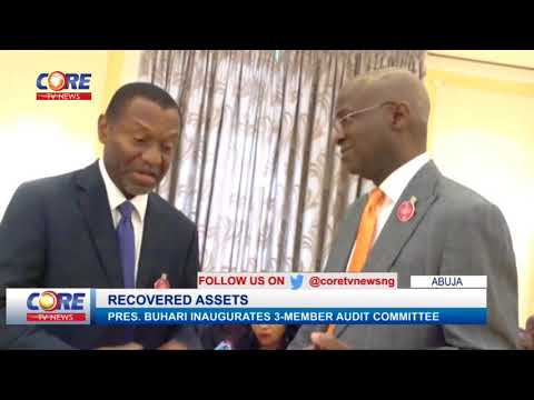 PMB INAUGURATES AUDIT COMMITTEE ON RECOVERED ASSETS...watch & share...!